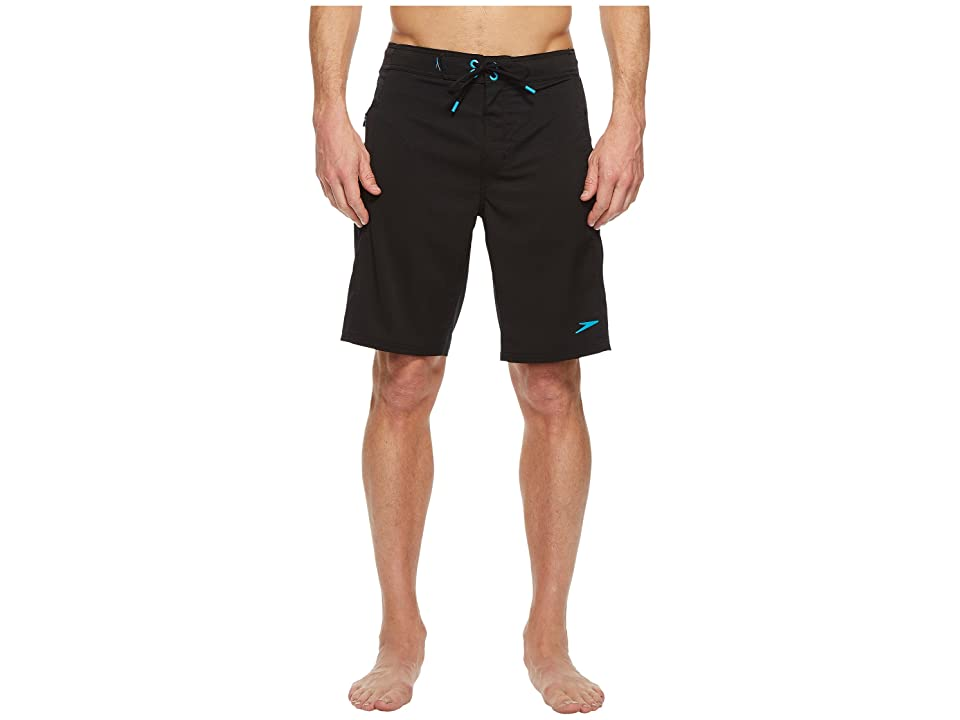 Speedo Ventilation Boardshorts (Speedo Black) Men