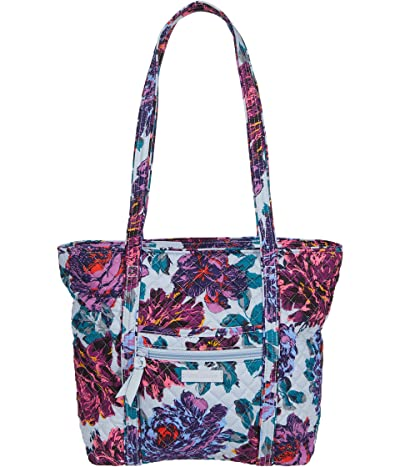 Vera Bradley Small Vera Tote (Neon Blooms) Tote Handbags