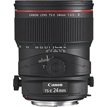 Canon TS-E 24mm f/3.5L II Ultra Wide Tilt-Shift Lens for Canon Digital SLR Cameras