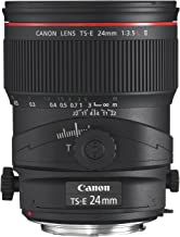 Canon TS-E 24mm f/3.5L II Ultra Wide Tilt-Shift Lens for Canon Digital SLR Cameras