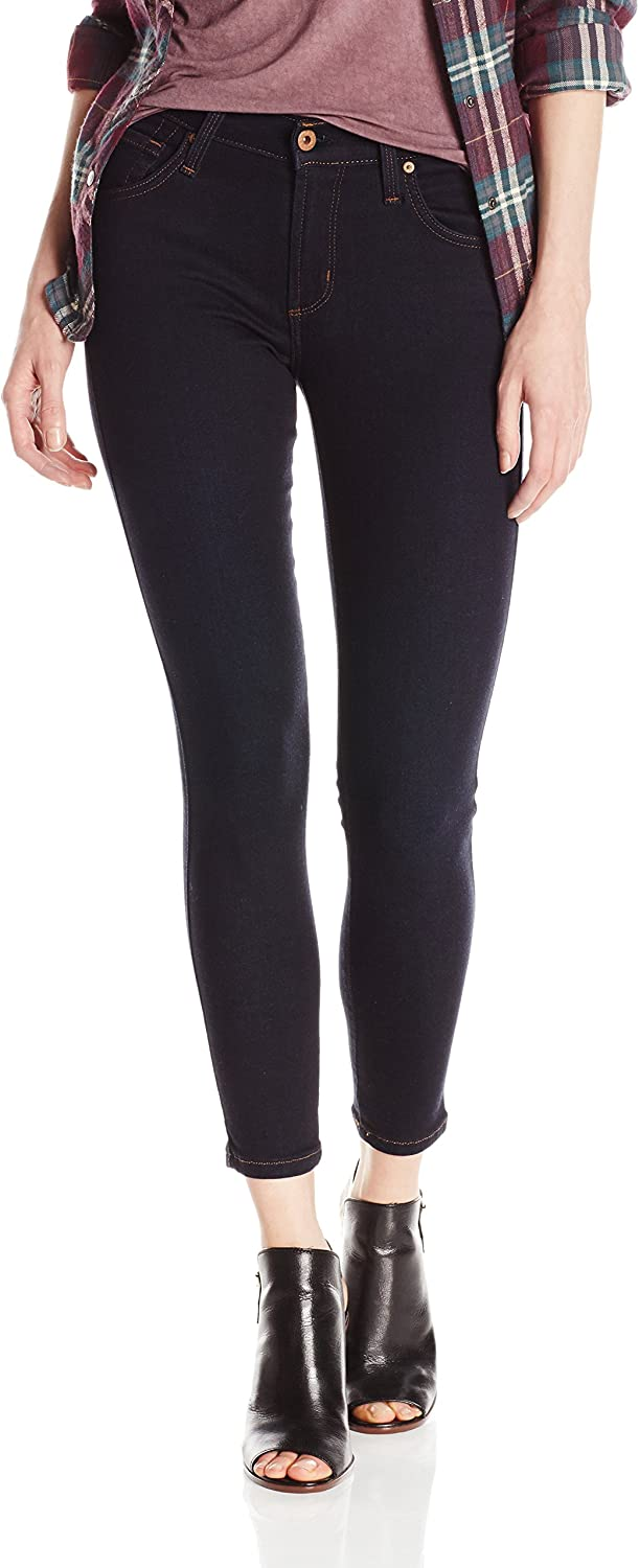 James Jeans Womens Twiggy Skinny Ankle Jean in Solstice Jeans