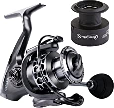Sougayilang Fishing Reel 13+1BB Light Weight Ultra Smooth Aluminum Spinning Fishing Reel with...