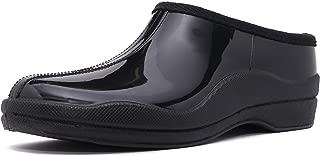 Charles Albert Women's Waterproof Rain Garden Shoe Slip On Low Boot-Comfortable-Ankle Boots