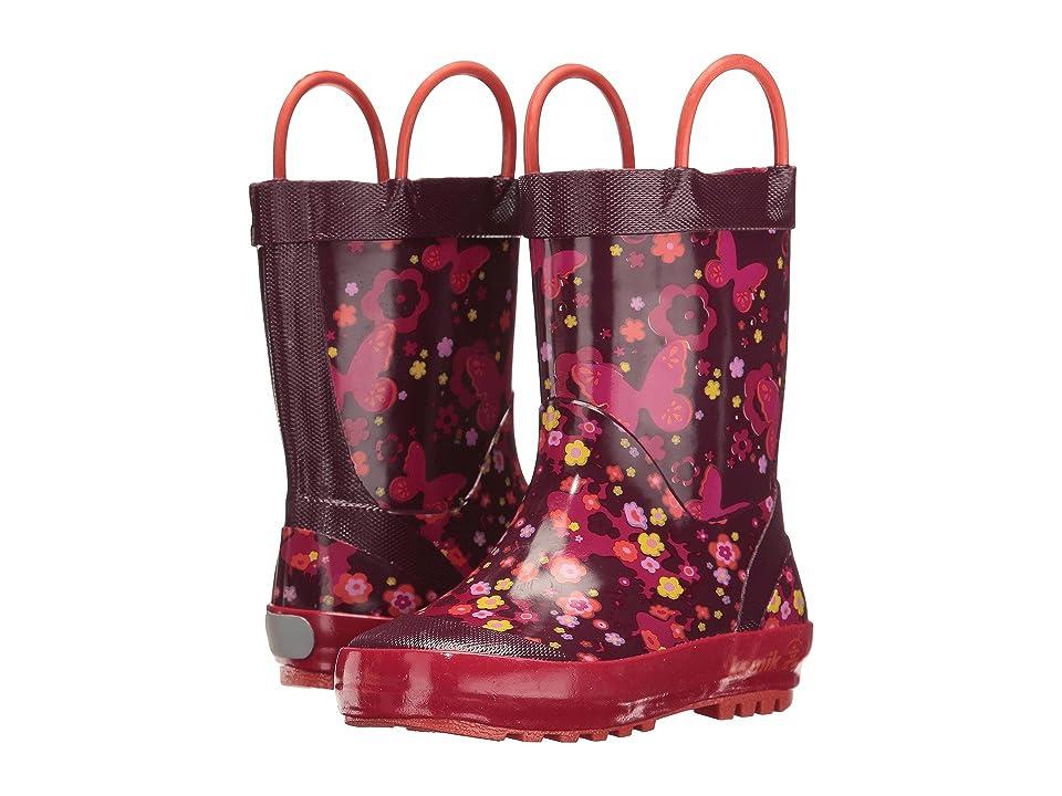 Kamik Kids Flutter (Infant/Toddler) (Dark Purple) Girls Shoes