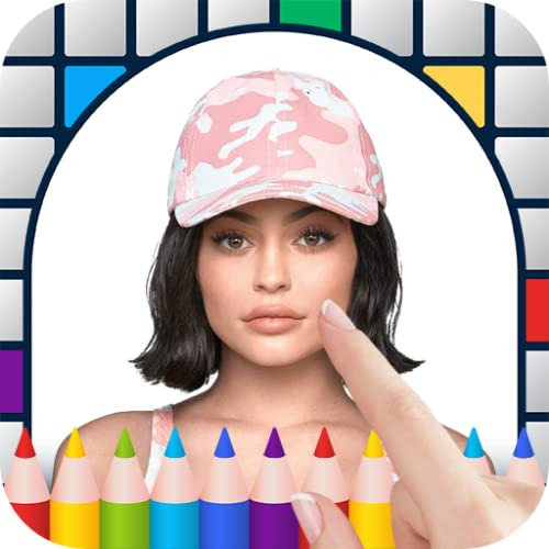 Kylie Jenner Color by Pixel - Art Game