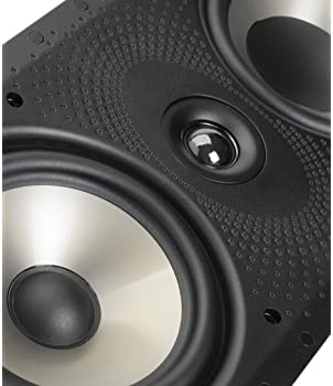 Polk Audio 265-RT 3-way In-Wall Speaker - The Vanishing Series   Easily Fits in Ceiling/Wall   High-Performance Audio...