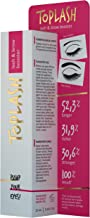 Toplash Eyebrow and Eyelash Growth Serum for Women (2-in-1) Lash and Brow Enhancer for Longer, Thicker, Healthier Lashes, Hair | Botanical, Myristoyl Pentapeptide Booster