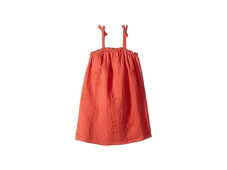 Lucky Brand Kids Ella Dress (Toddler) (Persimmon) Girl