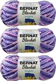 Multipack of 4 Bernat 99672 Silver Steel Blanket Big Ball Yarn 4 Pack
