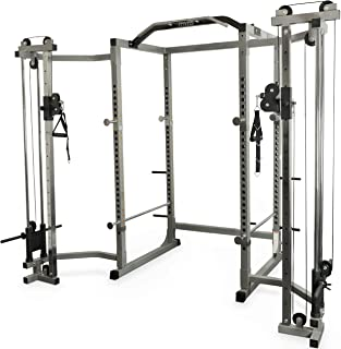 Valor Fitness BD-11 Hard Power Rack w/Available Bundle Options for a Complete Home Gym