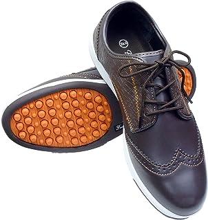 Foot Tech(フットテック) スパイクレスシューズ メンズ FT-303 ブラウン