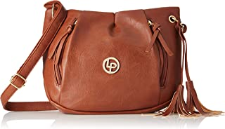 Lino Perros Women's Artificial Leather Sling bag