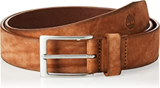 Timberland Men's Washed Leather Belt