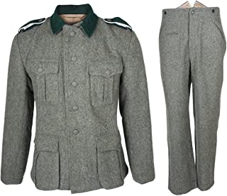 Heerpoint Reproduction Ww2 Wwii German M36 EM Wool Field Tunic and Trousers
