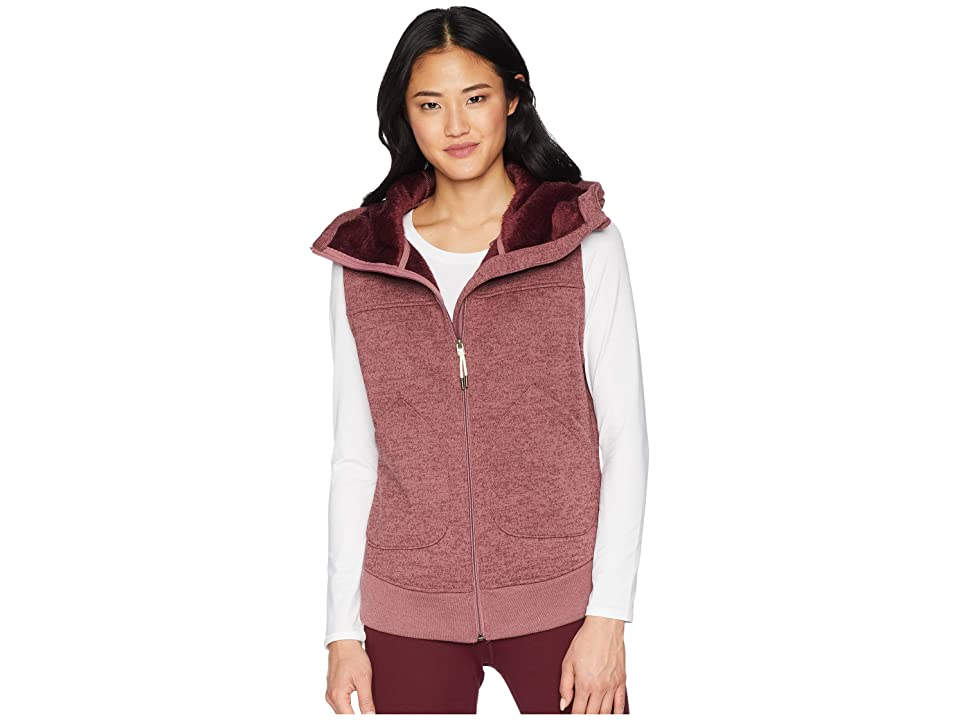 Burton Minxy Vest (Rose Brown Heather) Women