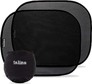 TALINU selbsthaftende Sonnenblende – Autosonnenschutz 2er Set   Selbstklebend – 2 Stück, inklusive Tasche zum Aufbewahren