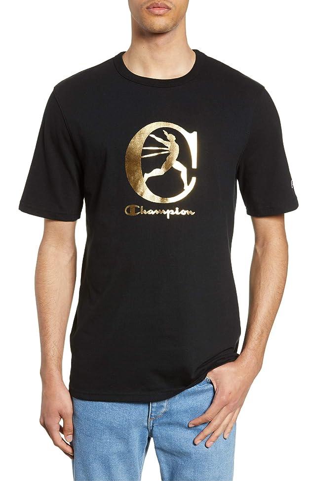 不誠実リマークメール[チャンピオン] メンズ Tシャツ Champion Heritage Graphic T-Shirt [並行輸入品]