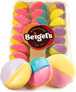 Beigel's Multi Color Cookies - Tray of 24 Cookies