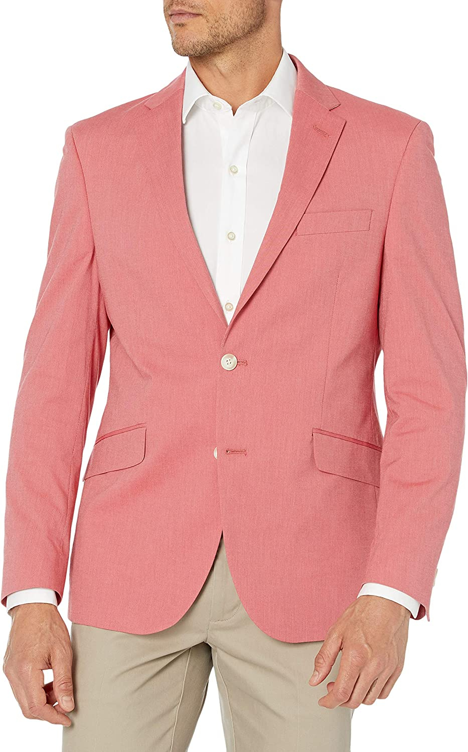 Unlisted by Kenneth Cole Men's Stretch Chambray Blazer