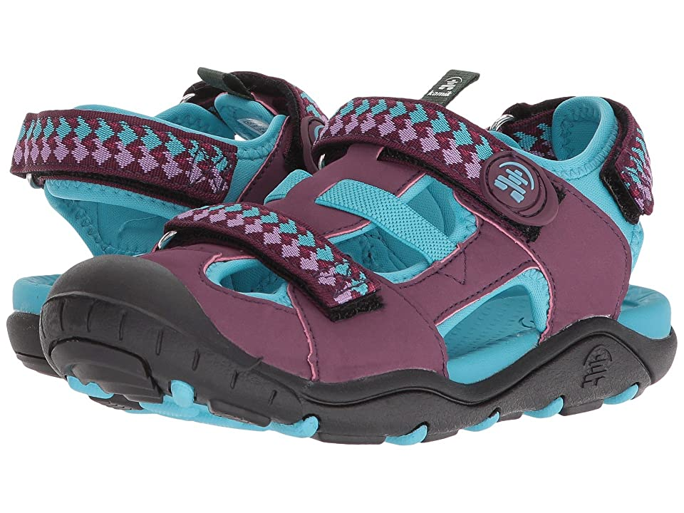 Kamik Kids Coralreef (Toddler/Little Kid/Big Kid) (Dark Purple) Girls Shoes