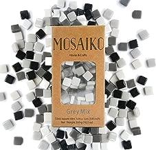 small white mosaic tiles