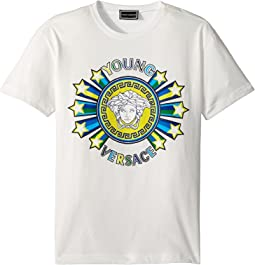 Short Sleeve Medusa Logo Graphic Tee (Big Kids)