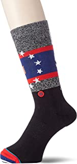 Stance Socks, Stance EUA Praise Calcetines - Negro Grande