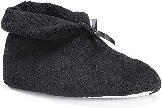 Women's Micro Chenille Slipper Bootie Large (8-9)