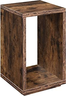 Convenience Concepts Northfield Admiral End Table with Shelf, Barnwood