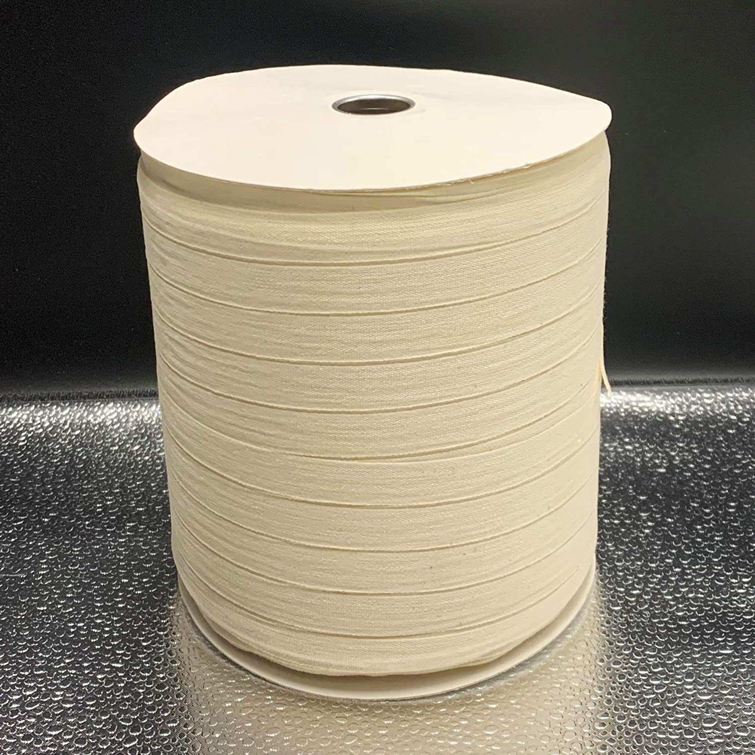 144 Yards Multiple Widths /& Yardages Available Medium Weight - USA Made 1 White Cotton Twill Tape