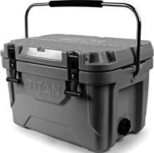 Arctic Zone Titan Deep Freeze Premium Ice Chest Roto Cooler with Microban Antimicrobial Protection