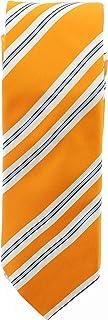 Bugatchi Men's Designer Tie Striped Tangerine