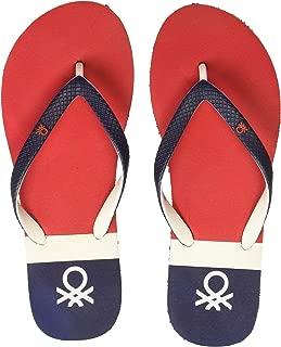 United Colors of Benetton Women's 19a8cffpl402i Flip-Flops