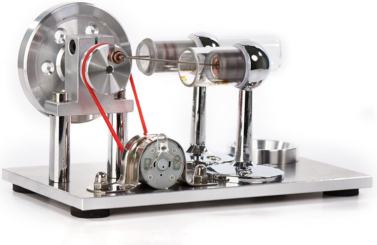 Sunnytech Hot SALENEW very popular Air Stirling Engine Toy Motor El Model Popular products Educational