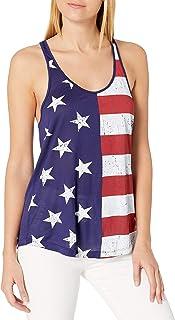 Goodie Two Sleeves Juniors Americana Flag Graphic Tee