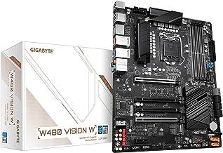 Gigabyte W480 Vision W (LGA 1200/Intel W480/ATX/Dual M.2/SATA 6Gb/s/USB 3.2 Gen 2/Dual Intel LAN/Multi-GPU Support/ECC Mem...