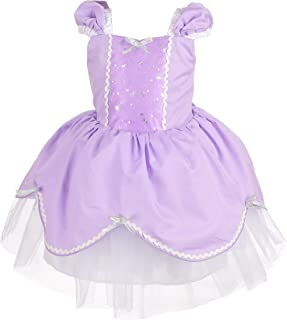 Dressy Daisy Disfraz de princesa para bebé y niño pequeño