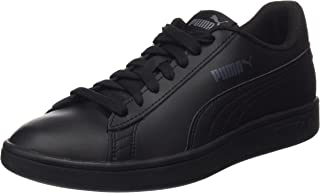 PUMA Men's Smash V2 L Blk-blk Shoes, Black Black