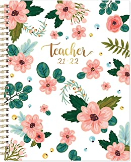 Teacher Planner 2021-2022 - Academic Planner from July 2021 - June 2022, 8'' x 10'', Lesson Plan Book, Weekly & Monthly Le...