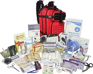کوله پشتی پزشکی کولر گازی پزشکی Lightning X Stock EMS / EMT و خونریزی پاسخ دهنده کمک های اولیه + کیت