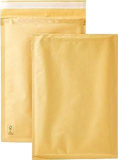 AmazonBasics - Correo de burbujas, dorado, 100 mm x 165 mm, 100 unidades, color dorado 220mm x 340mm