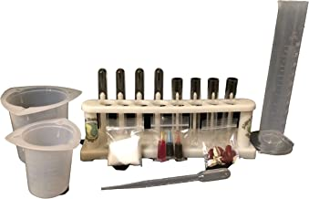 Algae Research Supply Starter Test Tube Research Set, Perfect for School Science Fairs/Projects, Experiments & Classrooms