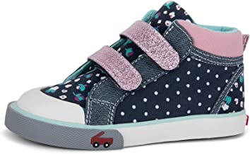 See Kai Run, Girl�s Kya High-Top Casual Sneaker for Toddlers and Kids