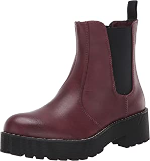 Dirty Laundry by Chinese Laundry Women's Margo Ankle Boot, Burgundy, 6 M US