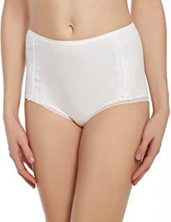 Women's Panty Briefs -3 Pack -Cotton Panties with Lace Trim -by