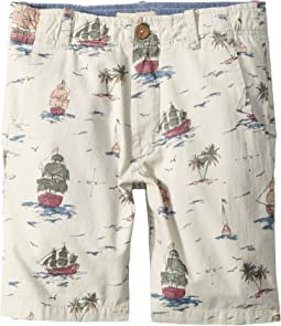 Pirate Ship Shorts (Toddler/Little Kids/Big Kids)