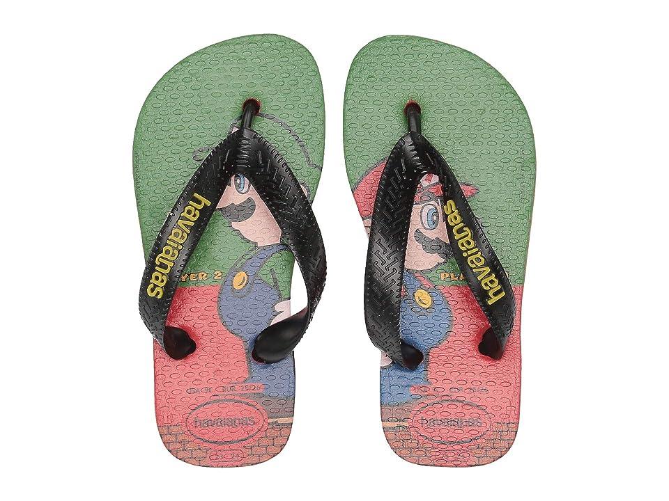 Havaianas Kids Mario Bros Flip-Flop (Toddler/Little Kid/Big Kid) (Strawberry) Kids Shoes