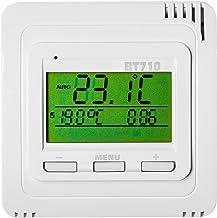 Thermostaat kamerthermostaat inbouw radio-ontvanger contactdoos voor infraroodverwarming - diverse modellen - (thermostaat...