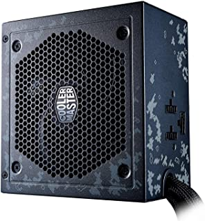 Cooler Master Masterwatt - Fuente de alimentación (550W, Semi-Modular 80+) Color Negro