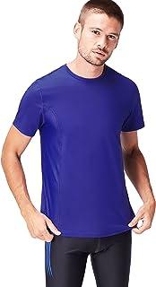 find. Men's Mesh Panel Sports T-Shirt